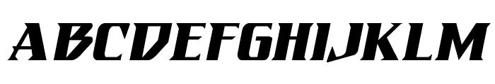 Eternal Knight Italic Font LOWERCASE