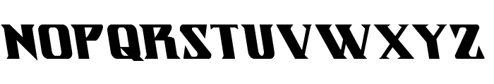 Eternal Knight  Leftalic Font LOWERCASE