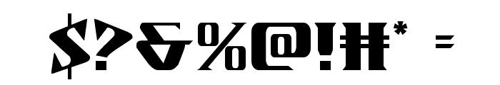 Eternal Knight Regular Font OTHER CHARS
