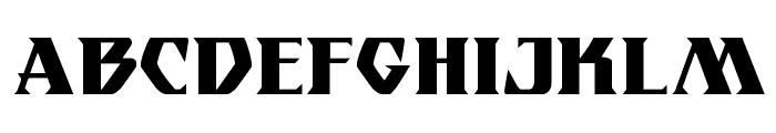 Eternal Knight Regular Font UPPERCASE