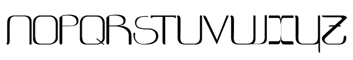 Eternal Font UPPERCASE
