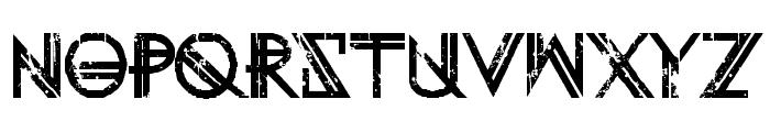 Eternity Tomorrow Font UPPERCASE