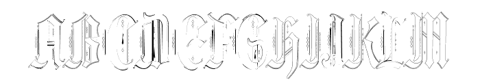 Ethelvina_Light Font UPPERCASE