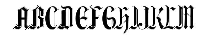 Ethelvina_Medium Font UPPERCASE