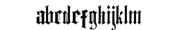 Ethelvina_Medium Font LOWERCASE