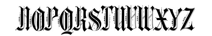 Ethelvina_Regular Font UPPERCASE