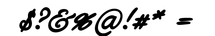Ethernal Bold PERSONAL USE Font OTHER CHARS
