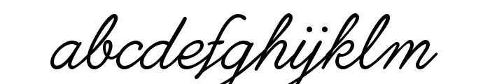 Ethernal Light PERSONAL USE Font LOWERCASE