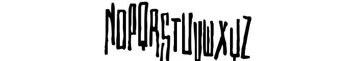Etiketafont Font UPPERCASE