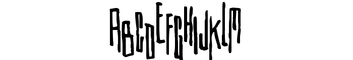 Etiketafont Font LOWERCASE