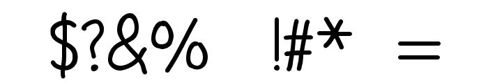 etaoin shrdlu Font OTHER CHARS
