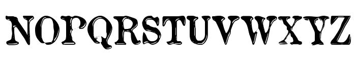etaoin shrdlu Font UPPERCASE