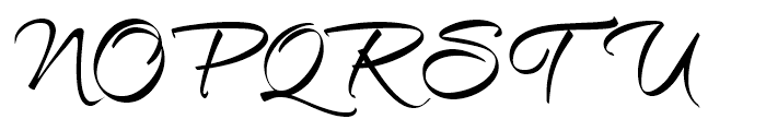 Et Cetera Black Font UPPERCASE