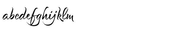 Et Cetera Black Font LOWERCASE