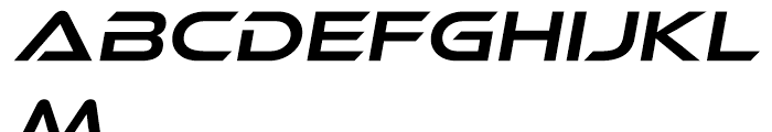 Ethnocentric Book Italic Font LOWERCASE