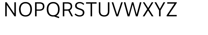 Etica Book Font UPPERCASE