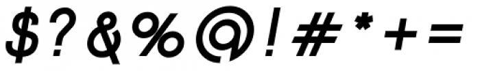 Etalon ExtraBold Italic Font OTHER CHARS