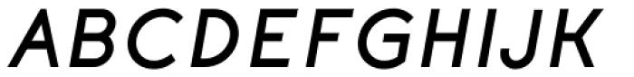 Etalon ExtraBold Italic Font UPPERCASE