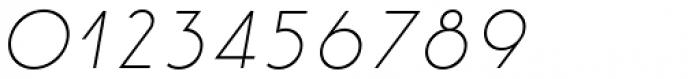 Etalon Light Italic Font OTHER CHARS