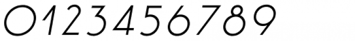 Etalon Medium Italic Font OTHER CHARS