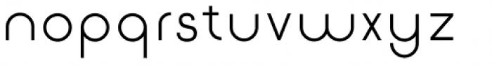 Etalon Medium Font LOWERCASE