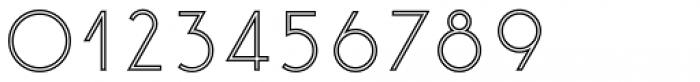 Etalon Regular Stroked Font OTHER CHARS