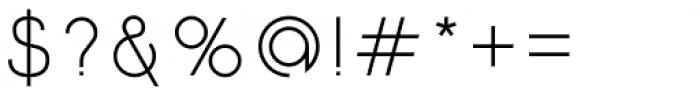 Etalon Regular Font OTHER CHARS
