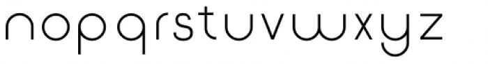 Etalon Regular Font LOWERCASE
