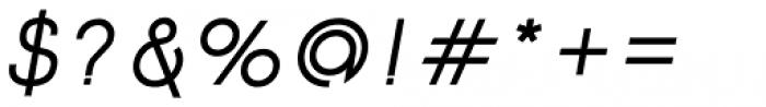 Etalon SemiBold Italic Font OTHER CHARS