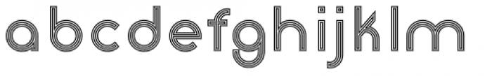 Etalon Stripes Font LOWERCASE