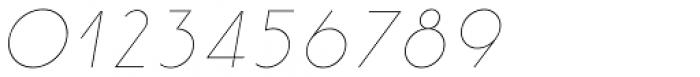 Etalon Thin Italic Font OTHER CHARS