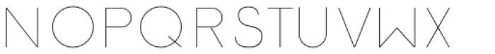 Etalon Thin Font UPPERCASE