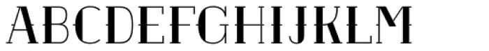 Etch Filled SC Font UPPERCASE