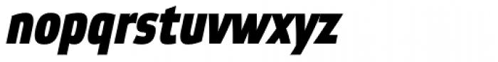Etelka Narrow Medium Pro Bold Italic Font LOWERCASE