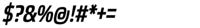 Etelka Narrow Medium Pro Italic Font OTHER CHARS