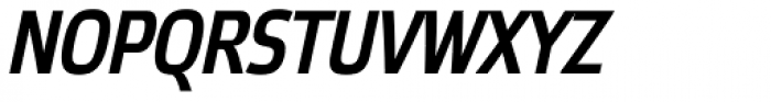 Etelka Narrow Medium Pro Italic Font UPPERCASE