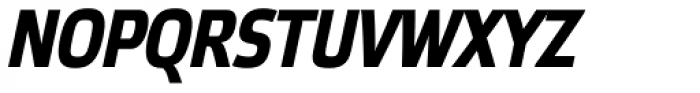 Etelka Narrow Text Pro Bold Italic Font UPPERCASE