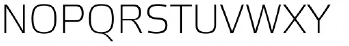 Etelka Sans Extra Light Font UPPERCASE