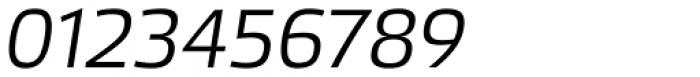 Etelka Sans Light Italic Font OTHER CHARS