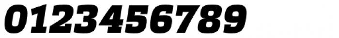 Etelka Slab Black Italic Font OTHER CHARS