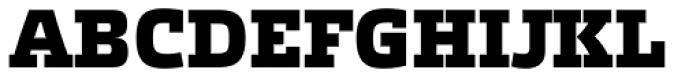 Etelka Slab Black Font UPPERCASE