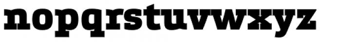 Etelka Slab Black Font LOWERCASE