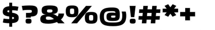 Etelka Wide Medium Pro Bold Font OTHER CHARS