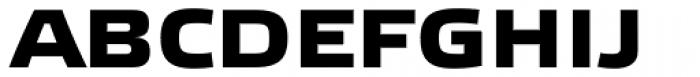Etelka Wide Medium Pro Bold Font UPPERCASE