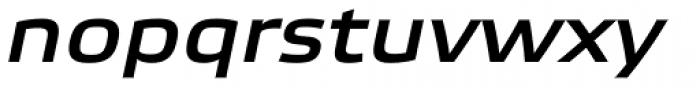 Etelka Wide Medium Pro Italic Font LOWERCASE