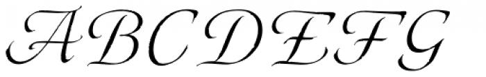 Eterea Calligraphic Caps Italic Font UPPERCASE