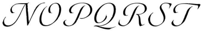 Eterea Calligraphic Caps Font UPPERCASE