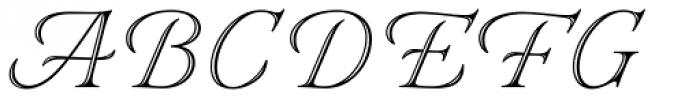 Eterea Handtooled Caps Font UPPERCASE