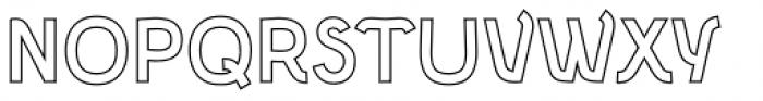 Etewut Sans Bold Hairline Font UPPERCASE