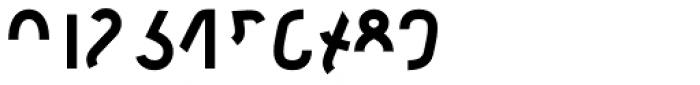 Etewut Sans Bold Half Font OTHER CHARS